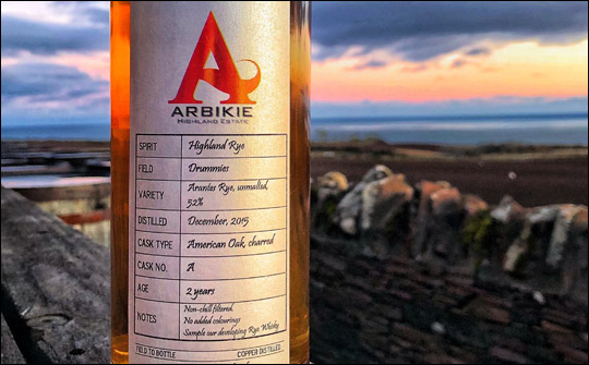 A Scottish Rye Whisky?